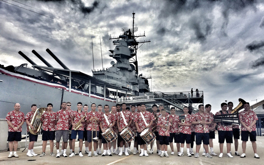 The Missouri Military Academy Band Returns from Hawaii!