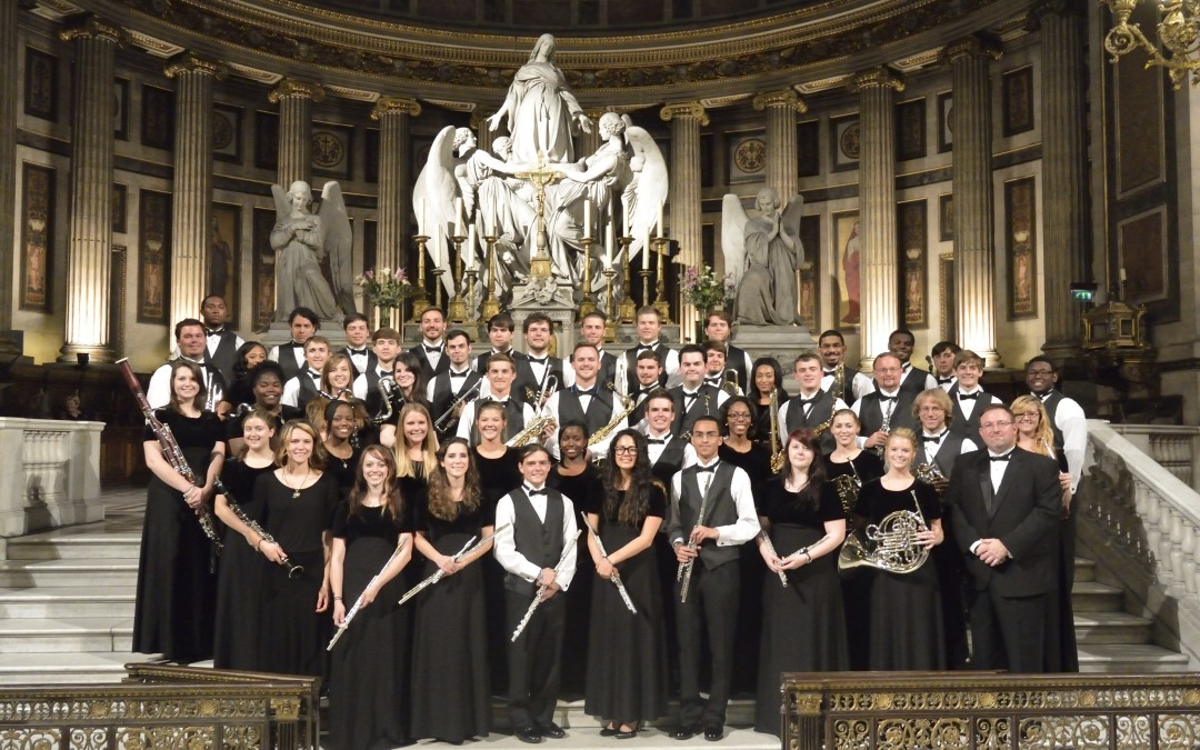 Hinds Community College Wind Ensemble Performs in France