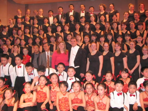 University of Wisconsin, Eau Claire Women's Concert Chorale Grateful to Tour China