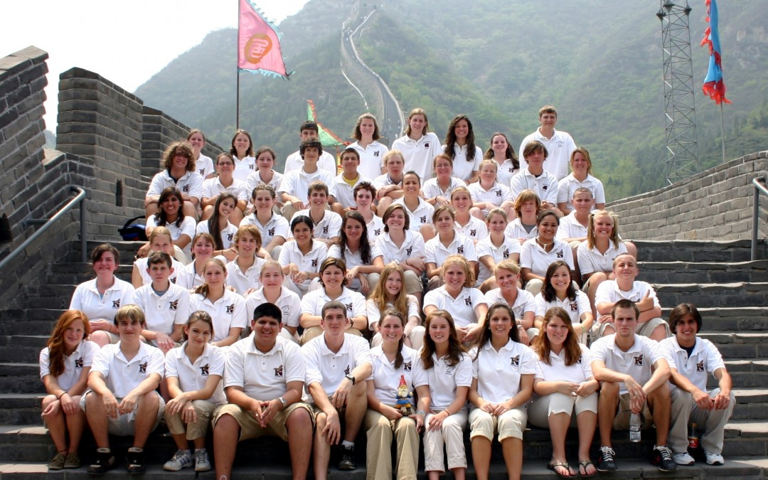 Niceville High School Singers Learn and Perform in China