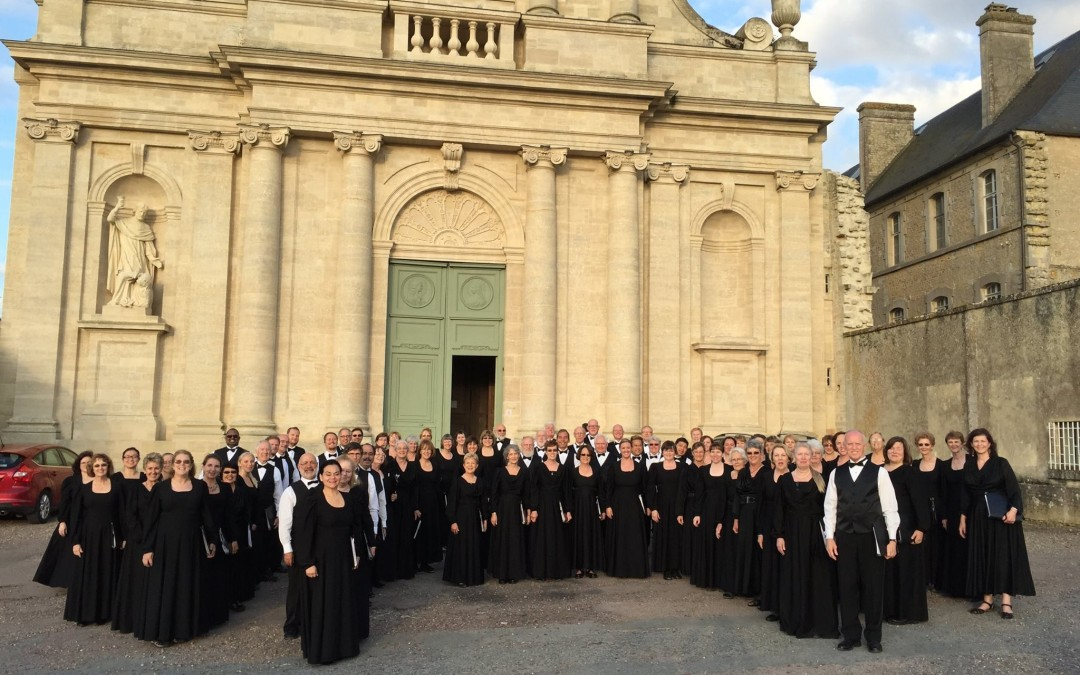Sacramento Choral Society Performs in Normandy, Paris, and London