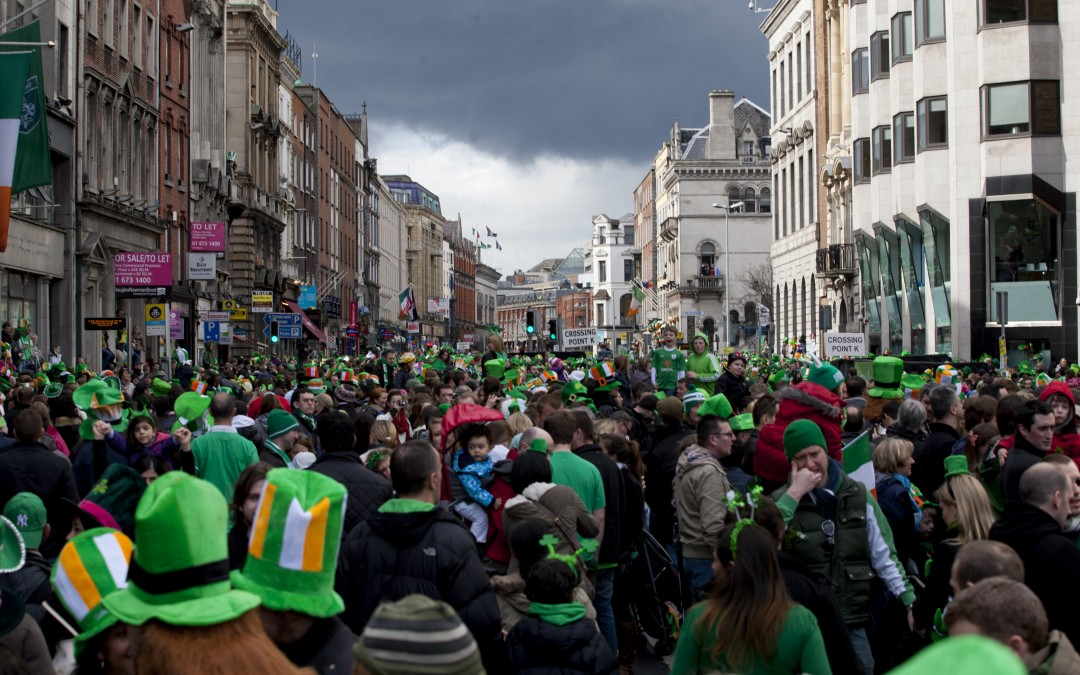 Applications for the 2017 St. Patrick's Festival Parade in Dublin