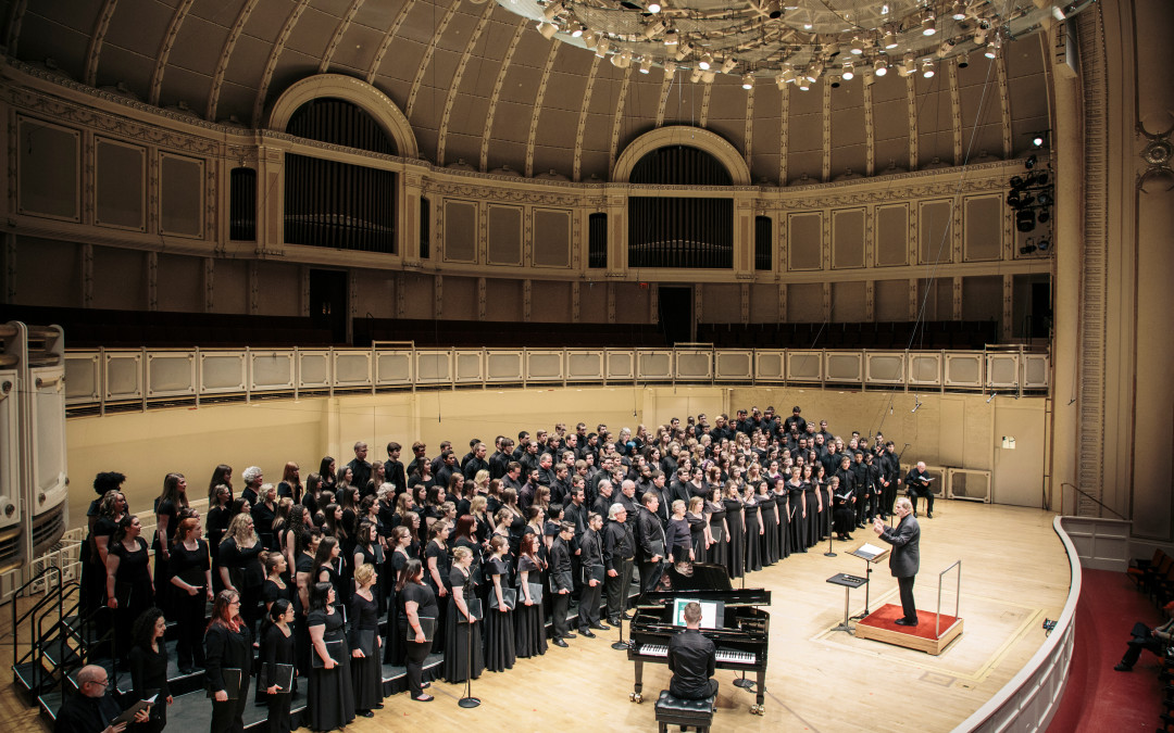 Now Accepting Choirs for Z. Randall Stroope Choral Event in Chicago, March 16-18, 2017
