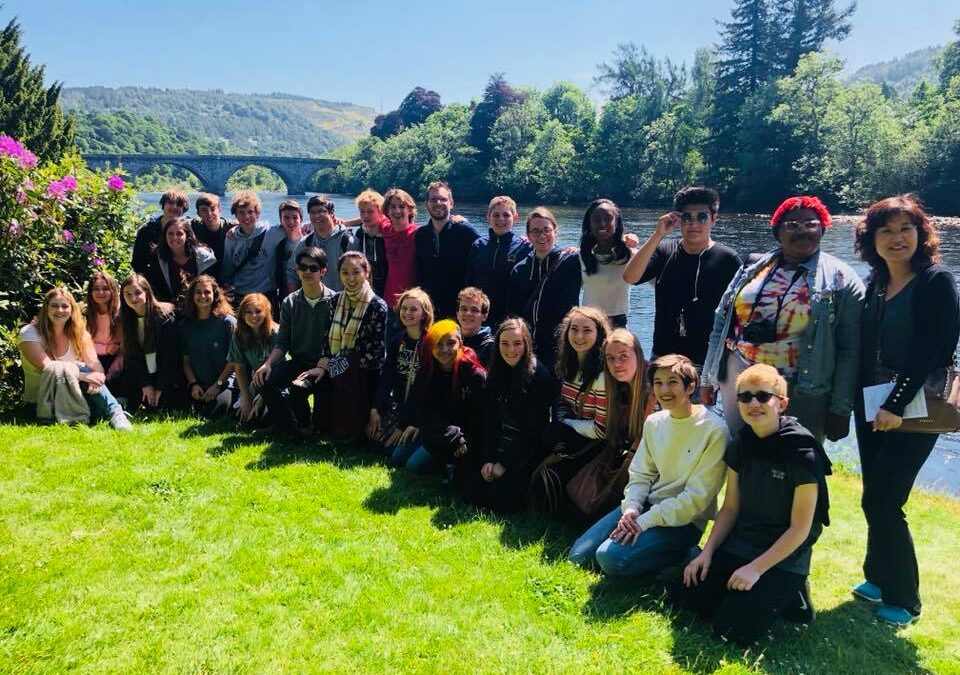 The Indian Springs Chamber Choir Tours Scotland