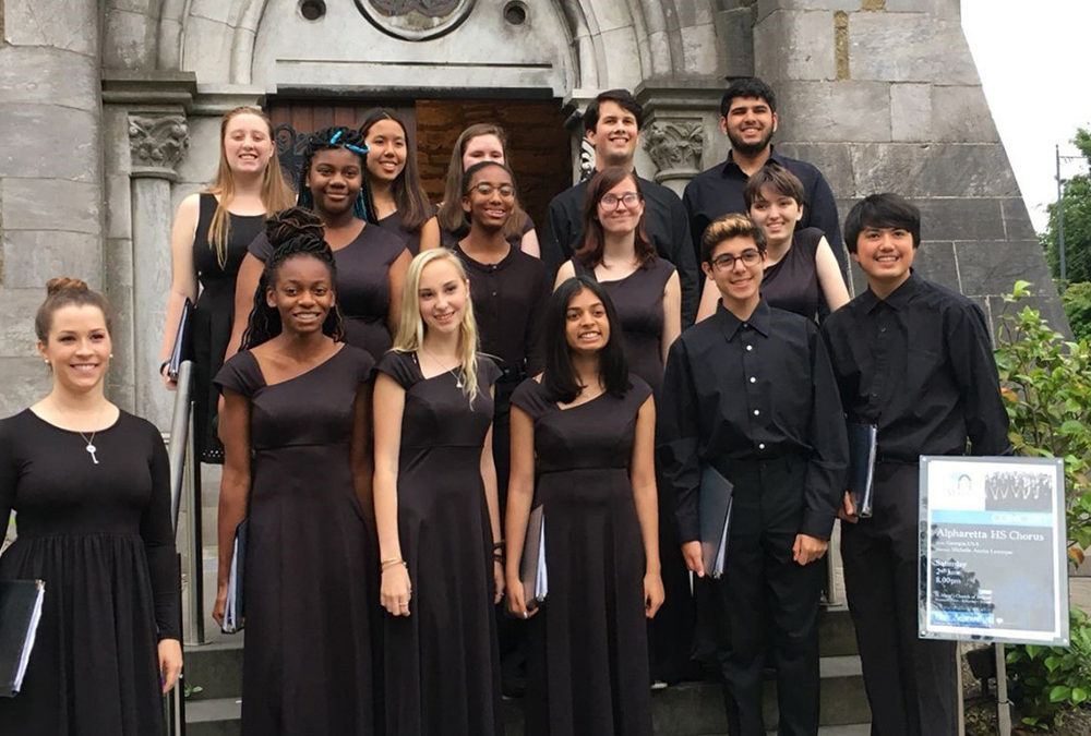 Alpharetta High School Choir Tours Ireland