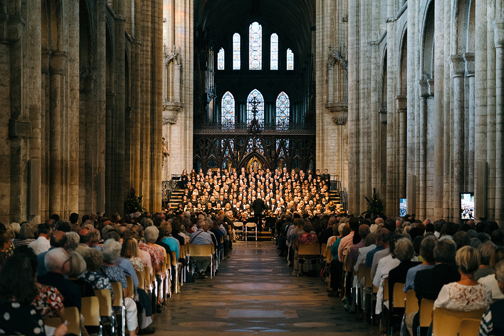 The American Festival Chorus in Great Britain