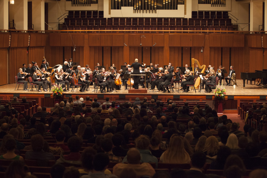 Anne Arundel Community College Symphony Orchestra performing at the Capital Orchestra Festival