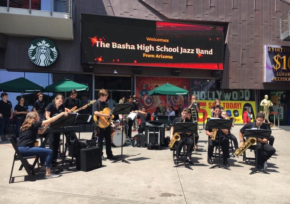 Basha High School Band Tours Southern California