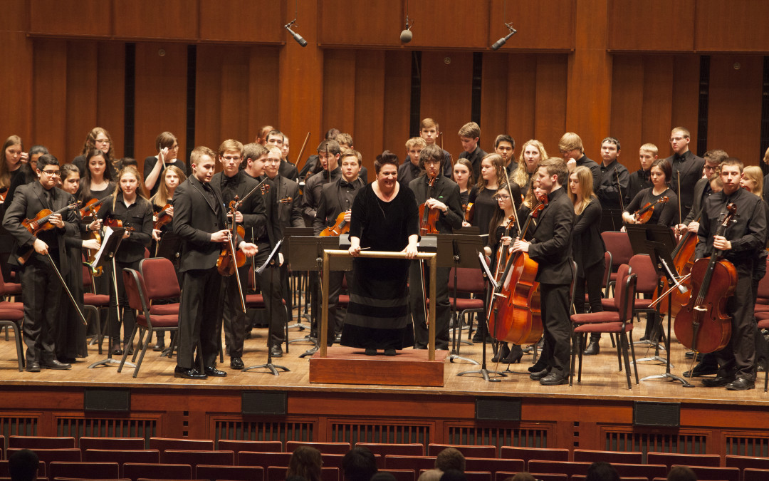 Bay Port High School Orchestra Performs at the Capital Orchestra Festival