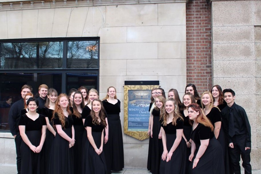The Bixby Concert Choir Experiences the Windy City Choral Festival