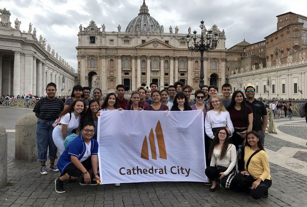 Cathedral City High School Choir Tours Italy