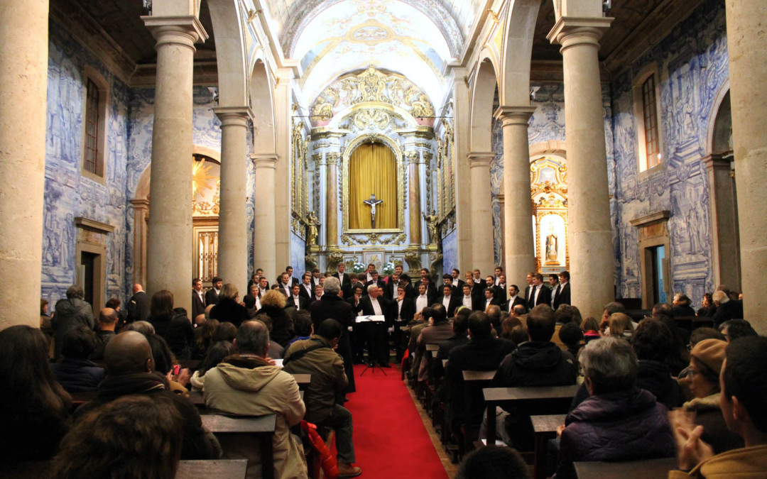 The Singing Statesmen of the University of Wisconsin-Eau Claire Perform in Portugal