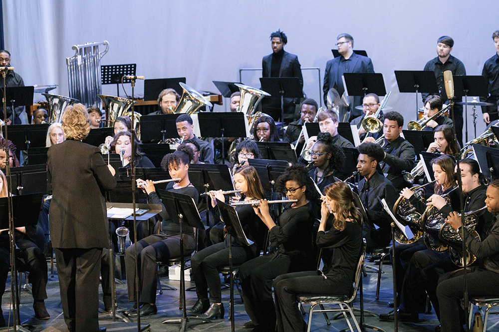 The Copiah-Lincoln College Band Performs in Chicago