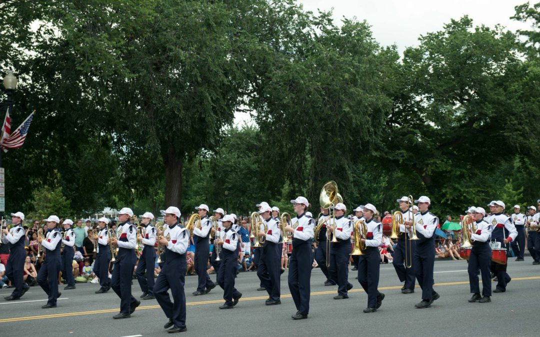 Coronado High School Bands Have A Blast at the National Independence Day Parade in Washington, D.C.