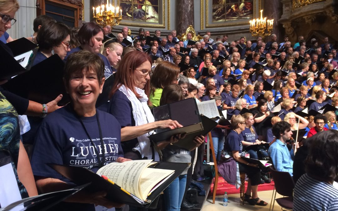 Church Choir Travels the World