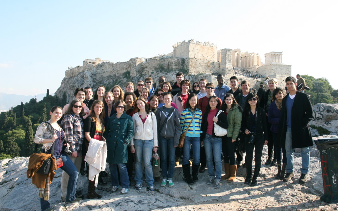 Duke University Chapel Choir Has a Fantastic Tour to Greece