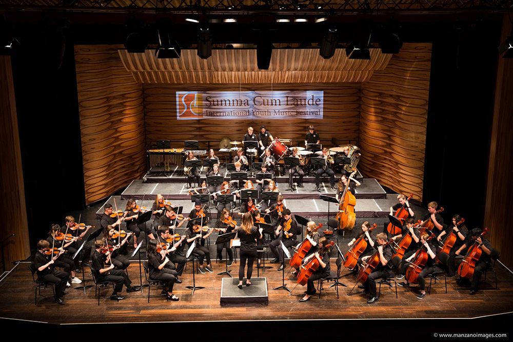 The East Texas Youth Orchestra Tours Austria