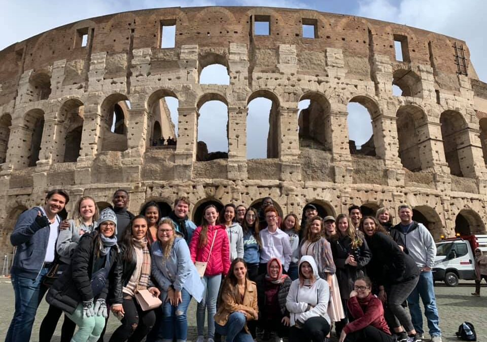 The Florida Gulf Coast University Chamber Choir Tours Italy