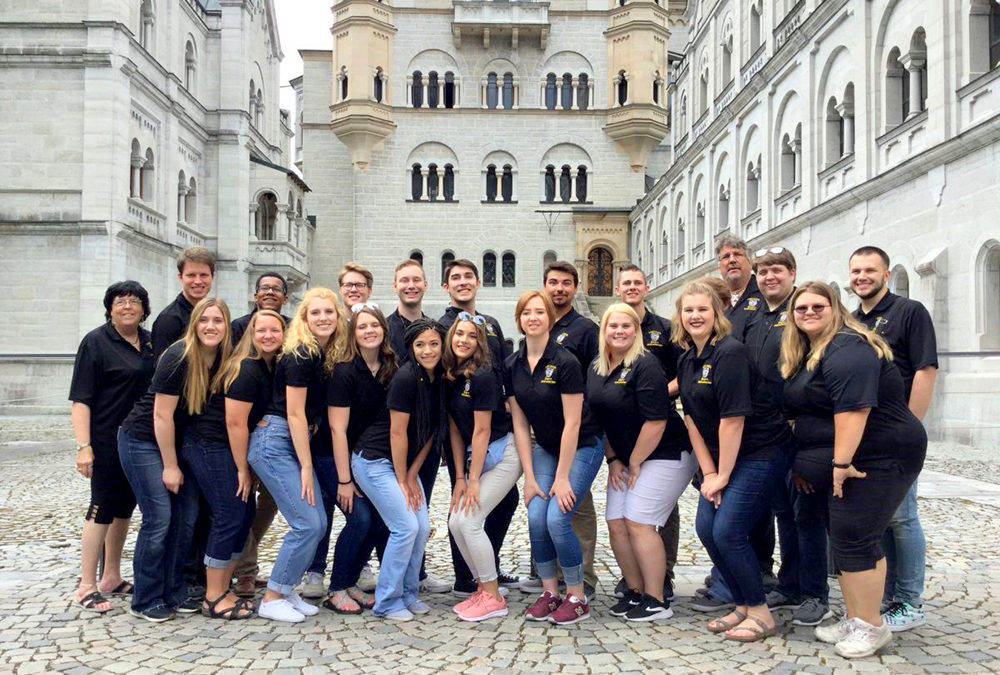 The Fort Hays Singers Tour Austria