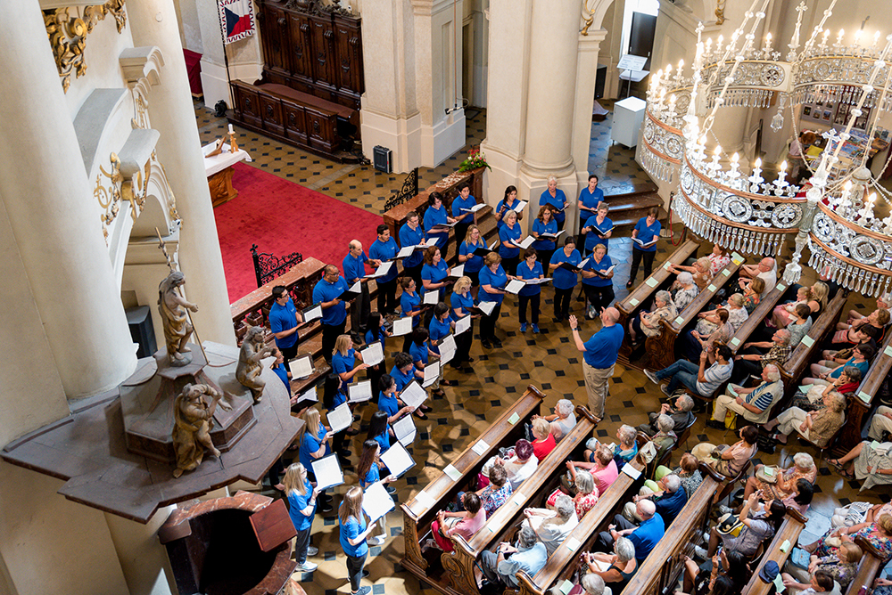 The Irvine Valley College Choir Delights Audiences in Austria and Prague