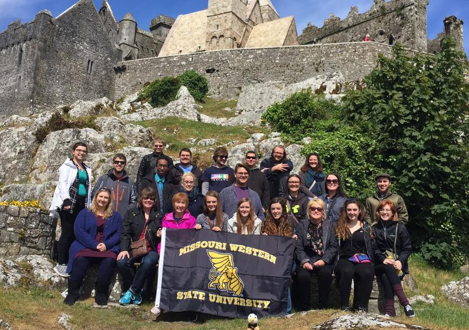 The MWSU Choirs Tour Ireland
