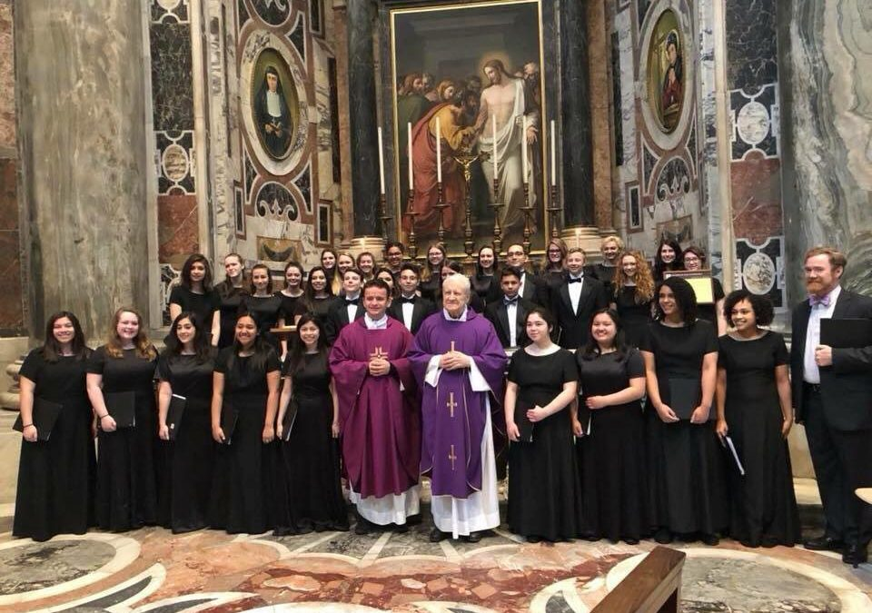 MacArthur High School Choir Tours Italy