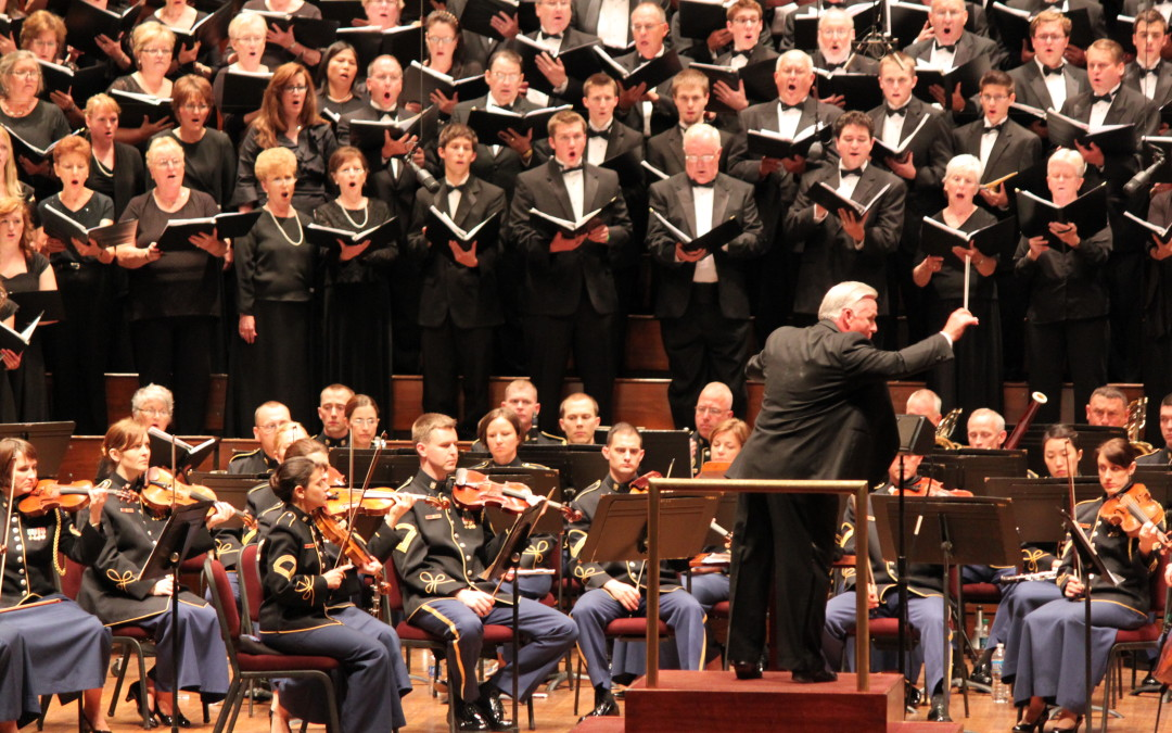 Southeast Missouri State University Choral Union Performs in the National Memorial Day Choral Festival