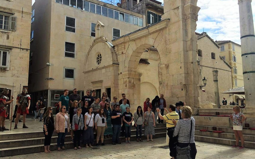 The Collegians Chorale Tours Italy and Croatia