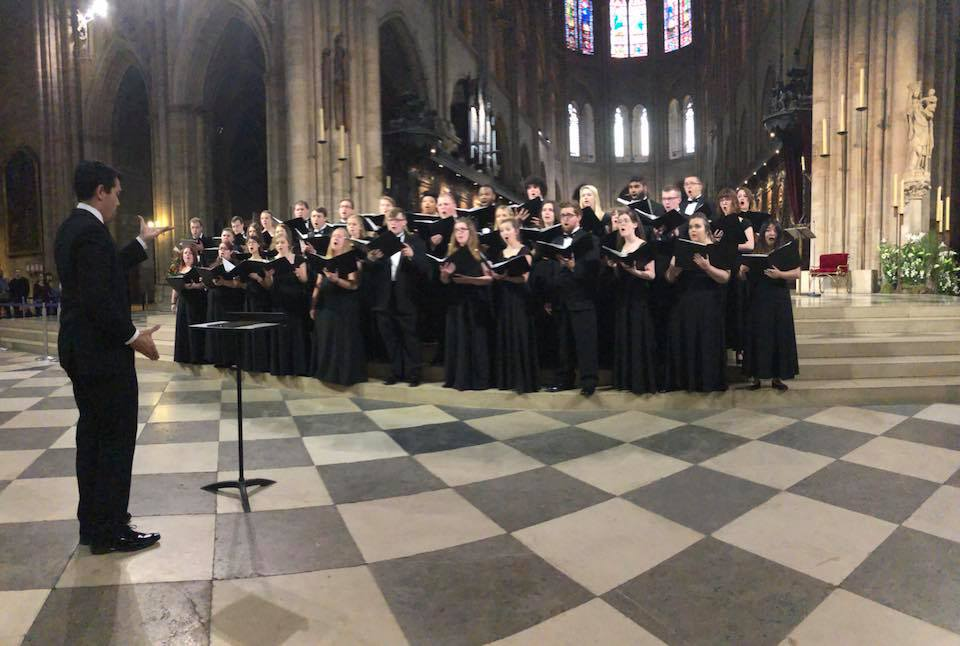 The Ohio Northern University Singers & Chamber Singers Return From Europe
