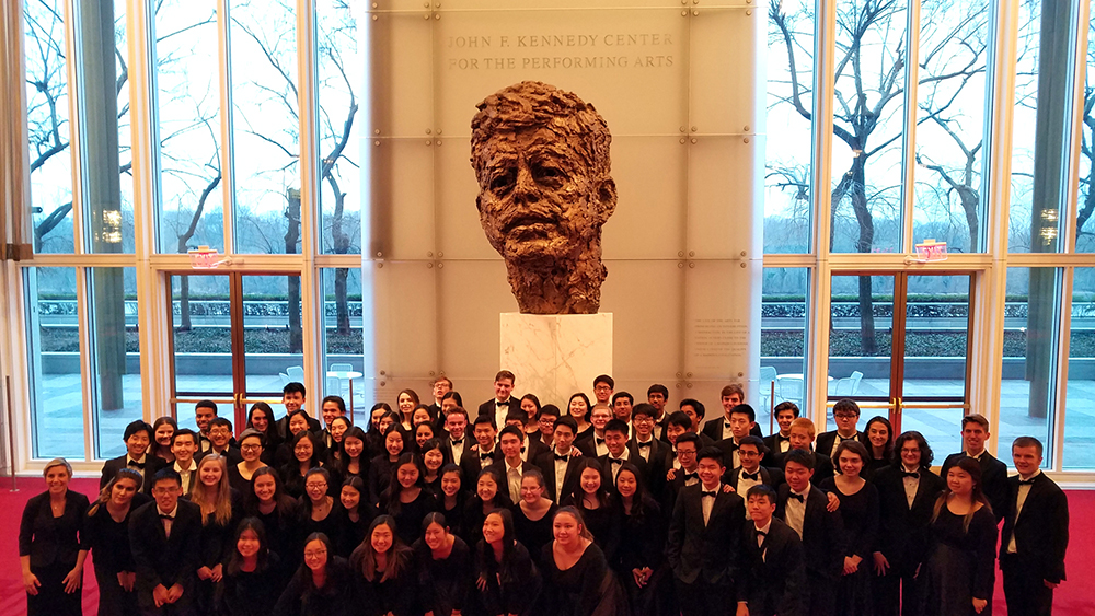 Newport Orchestra Performs in the Kennedy Center!