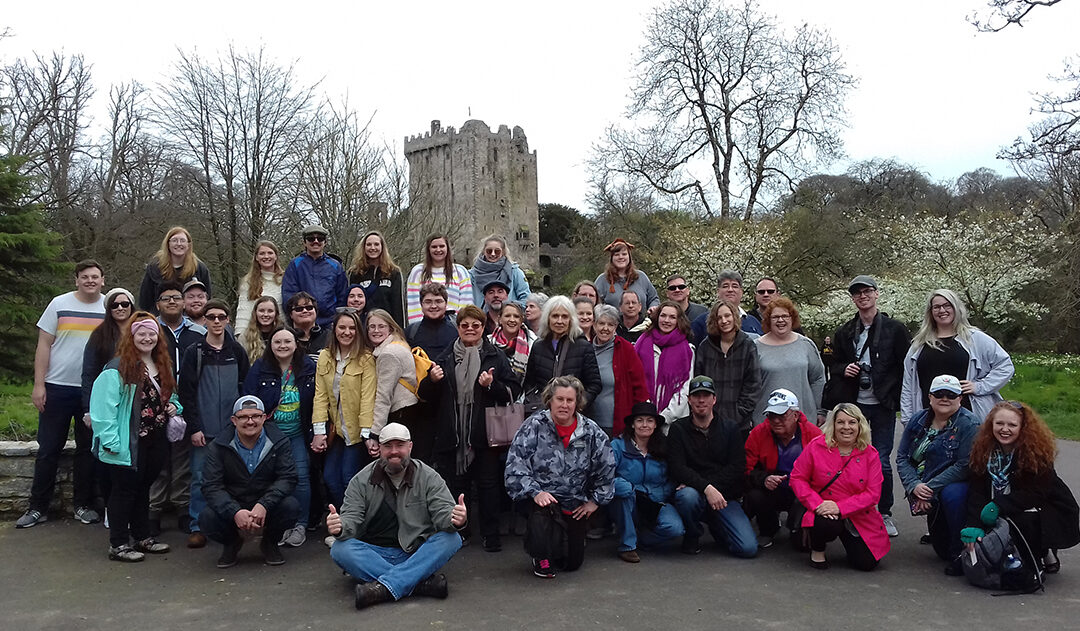 The Northeastern State University Choir Tours Ireland