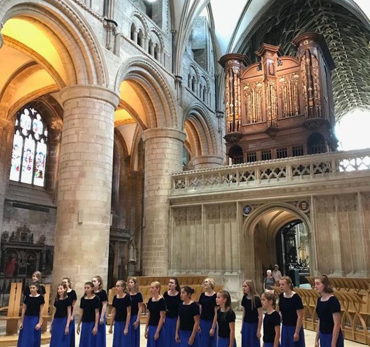 The Northern California Children's Chorus Tours Britain