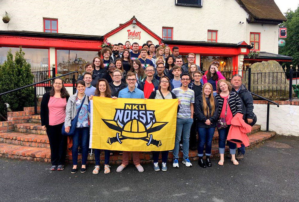 The NKU Orchestra Tours Ireland