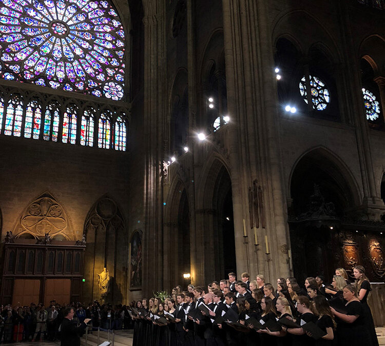 The West Monroe Rebel Choir Tours Europe