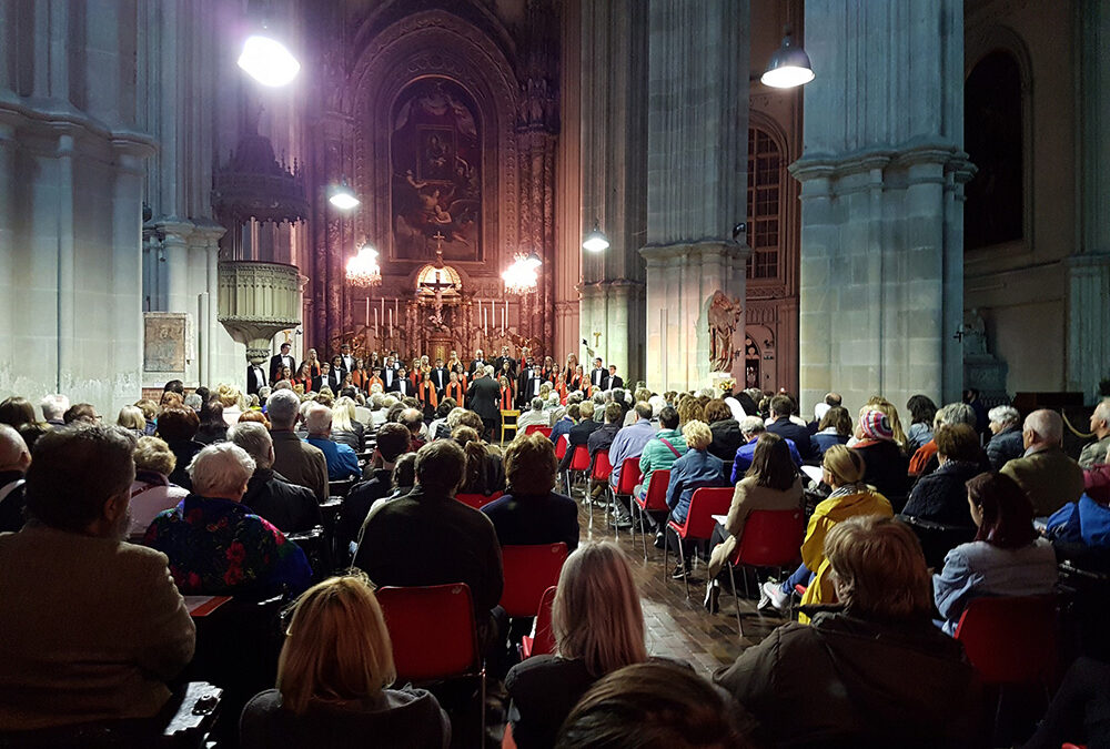 Oklahoma State University Concert Chorale Tours Central Europe