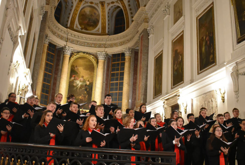 The Otterbein University Concert Choir Tours Germany