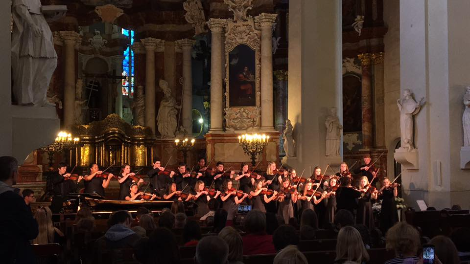 The SIUE Suzuki String Program Performs for the Best Audiences in the Baltics