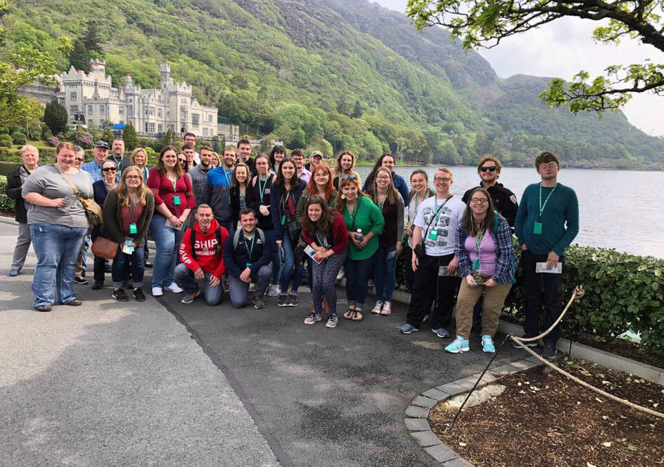 The Shippensburg University Concert Choir Tours Ireland & Northern Ireland