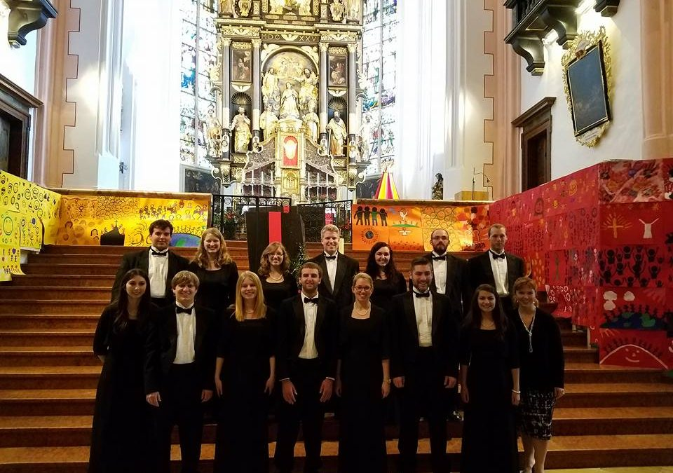 Shippensburg University Madrigal Singers Tour Germany and Austria