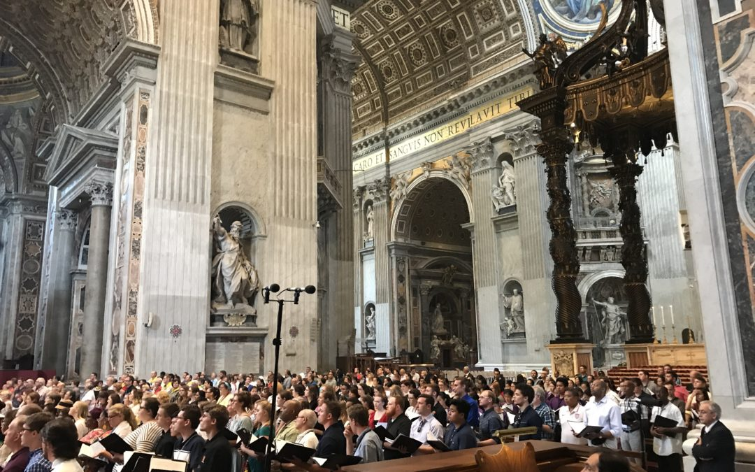 Religious Choir Tours to Italy