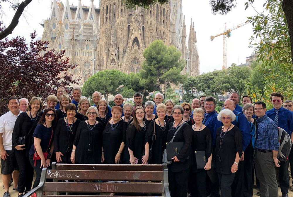 St. Luke's Choir Tours Spain & France