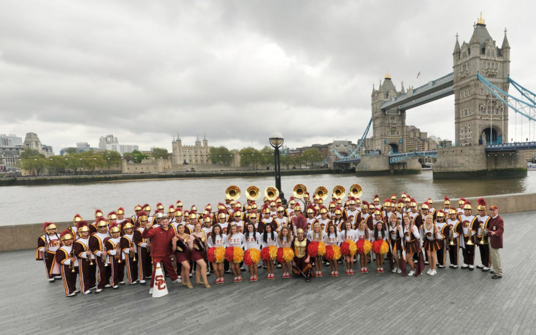 Tour Like Art Bartner and the USC Trojan Marching Band!