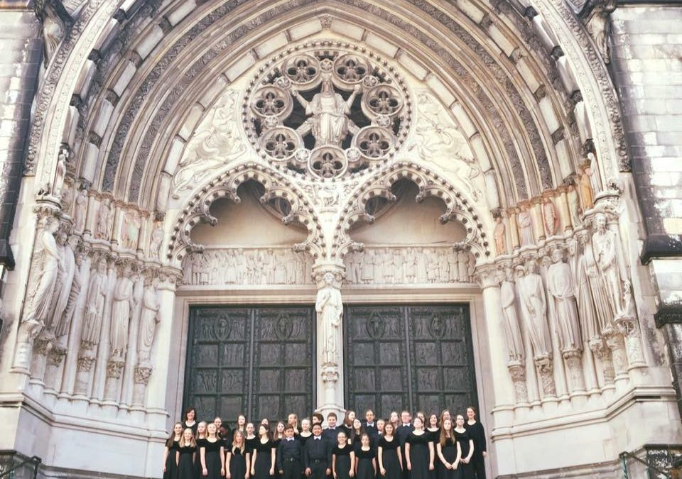 The University of Arkansas Children's Choir Tours New York City