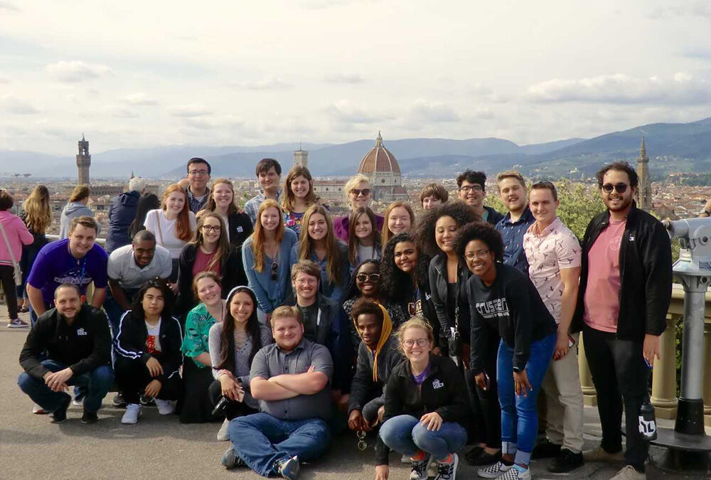 The University of Mary Hardin-Baylor Concert Choir Tours Italy