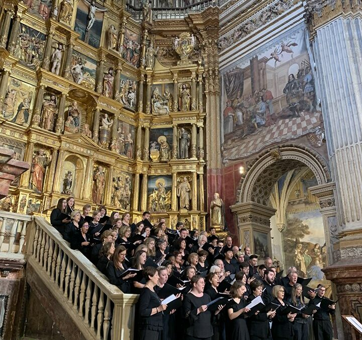 The Virginia Tech University Chamber Singers Tour Spain