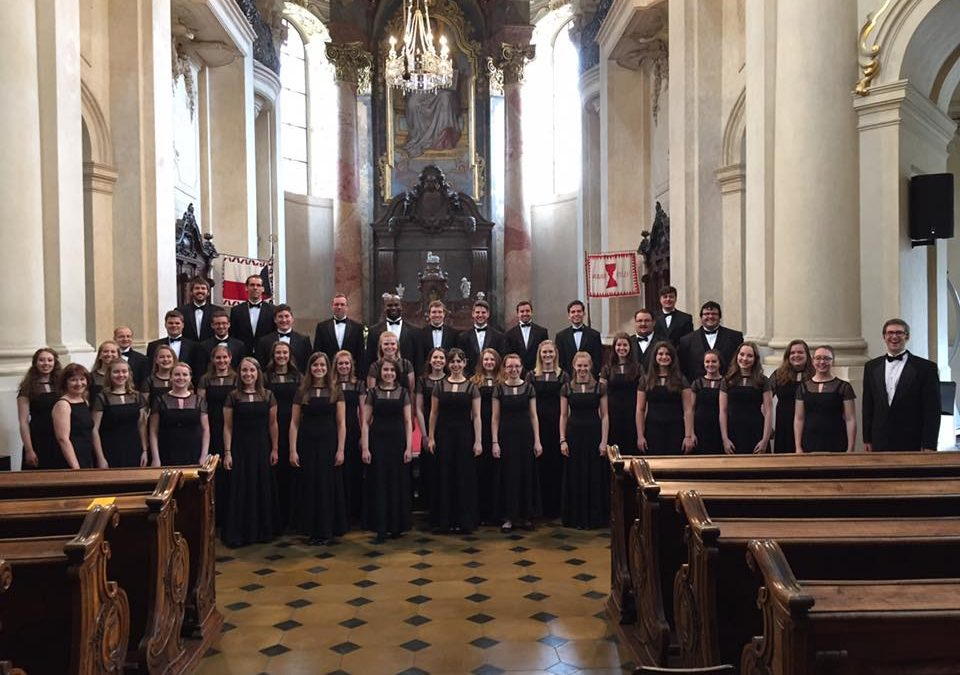 Westminster College Concert Choir's Personalized Tour to Germany, Austria, and the Czech Republic
