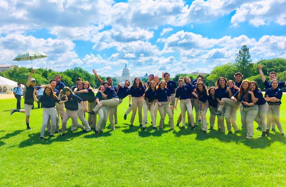 Yucaipa High School Choir Performs in DC!