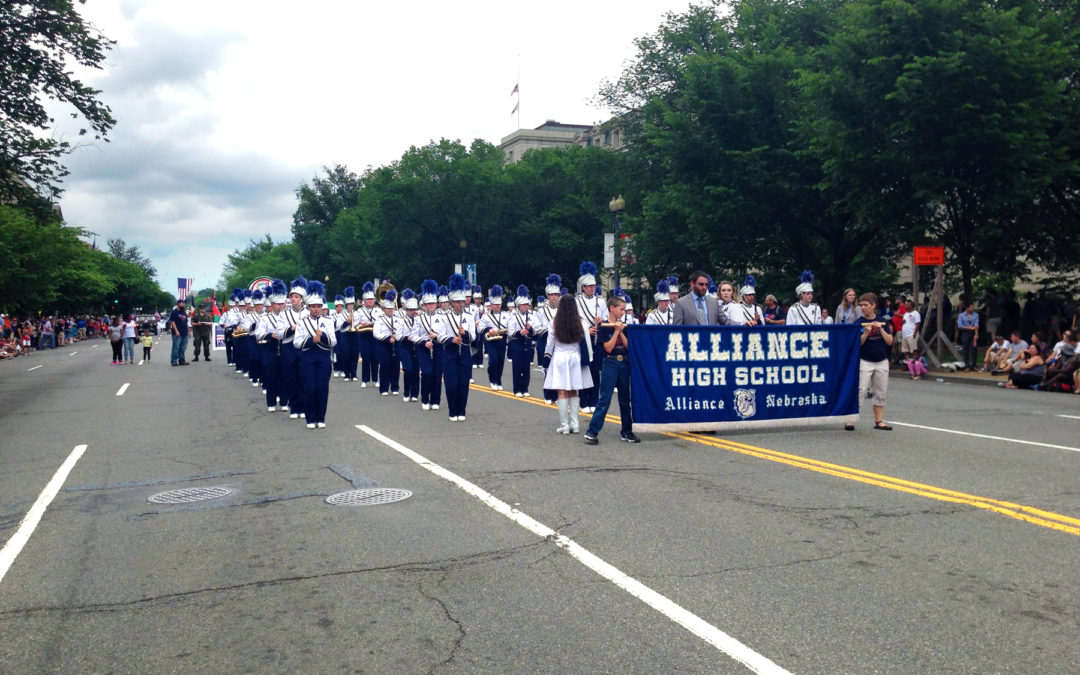 Alliance High School Band Has Experience of a Lifetime in the National Memorial Day Parade