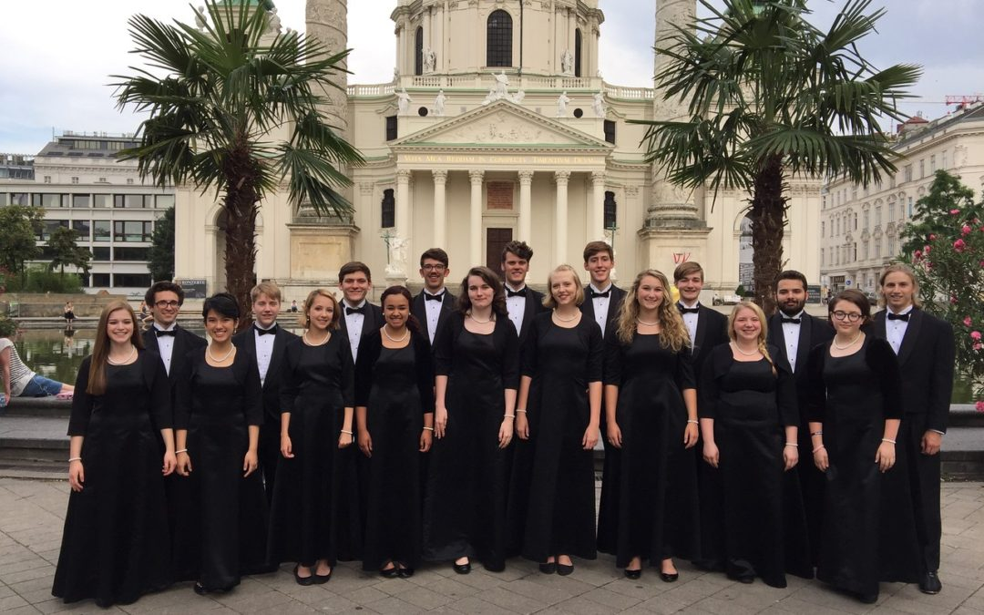 Performing in the Karlskirche was a Highlight for the Ledyard High School Choir