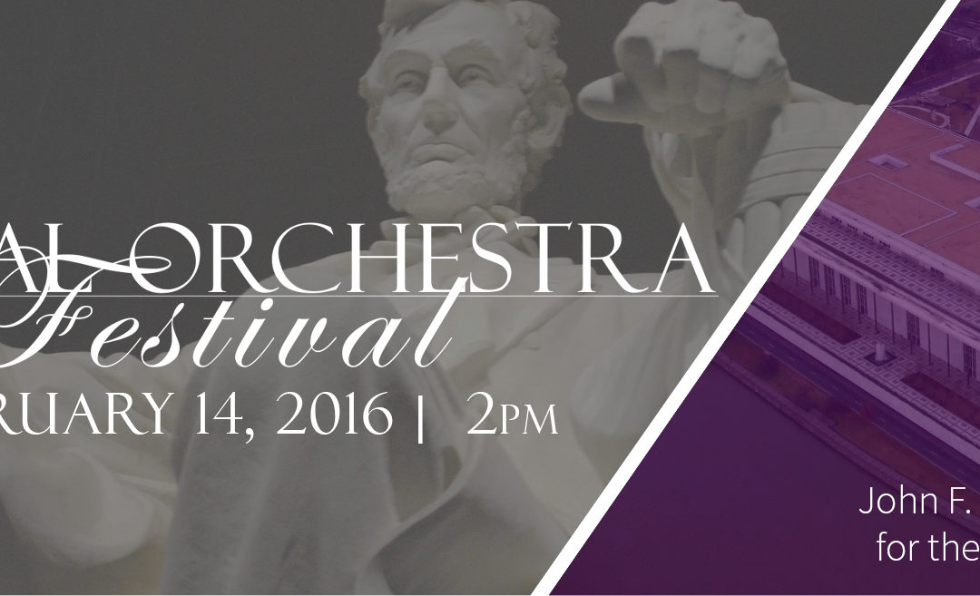 Announcing the Capital Orchestra Festival – February 14, 2016